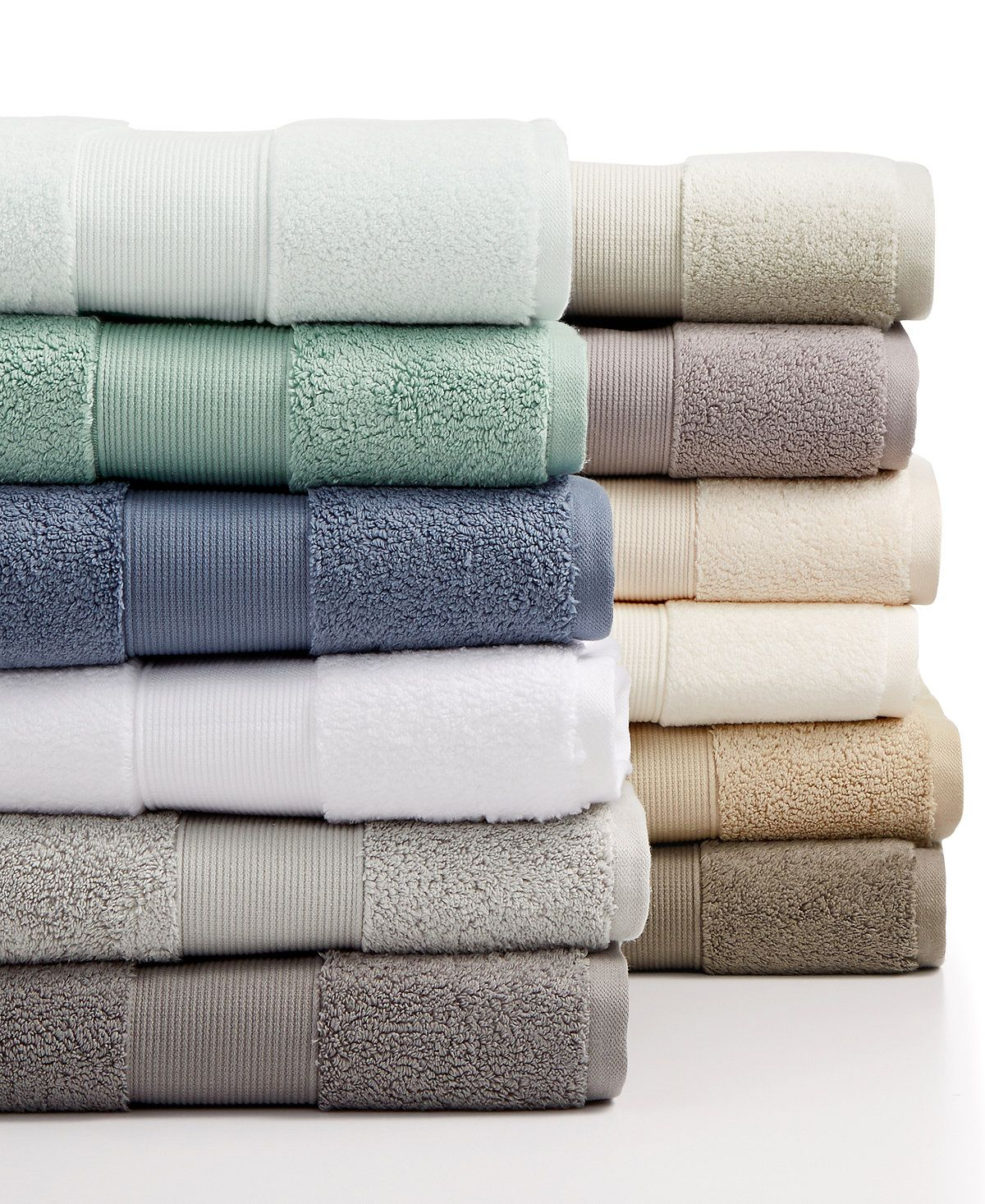 Hotel Collection Premier Microcotton Bath Towel Collection I Love
