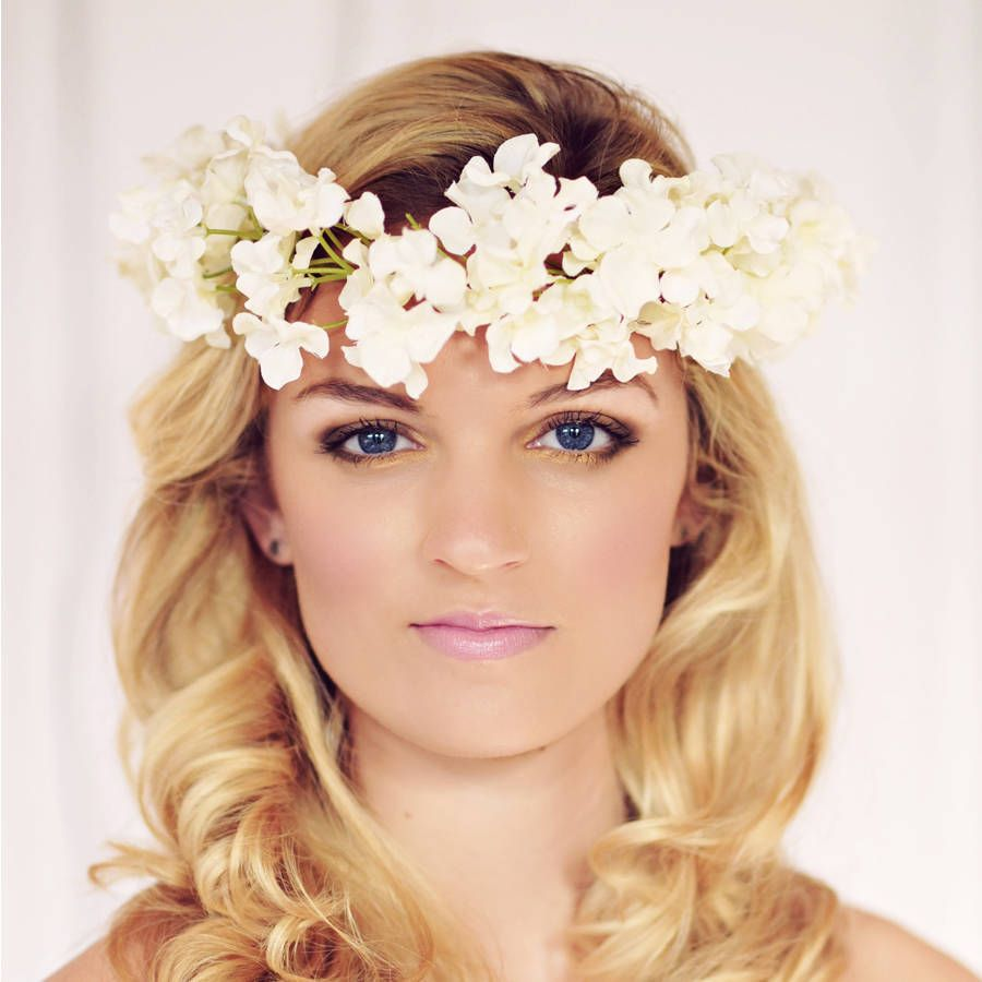 ebony blossom flower headband by gypsy rose vintage