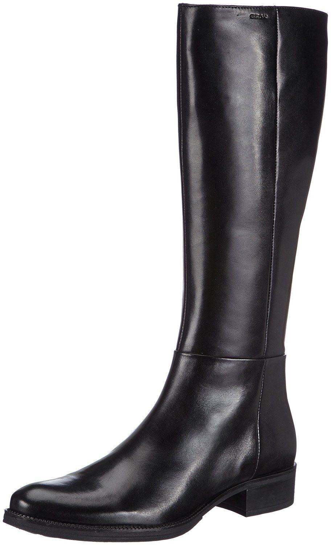 Geox D Mendi Stivali, Bottes femme: : Chaussures et