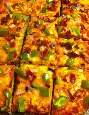 Bread Less Pizza