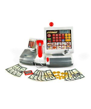 Another great find on #zulily! Electronic Cash Register Toy Set by Klein #zulilyfinds