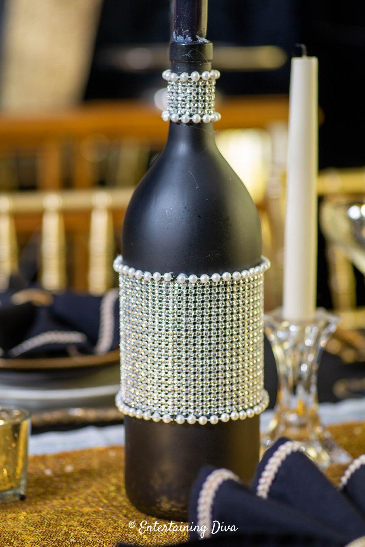 DIY Wine Bottle Centerpieces Entertaining Diva From