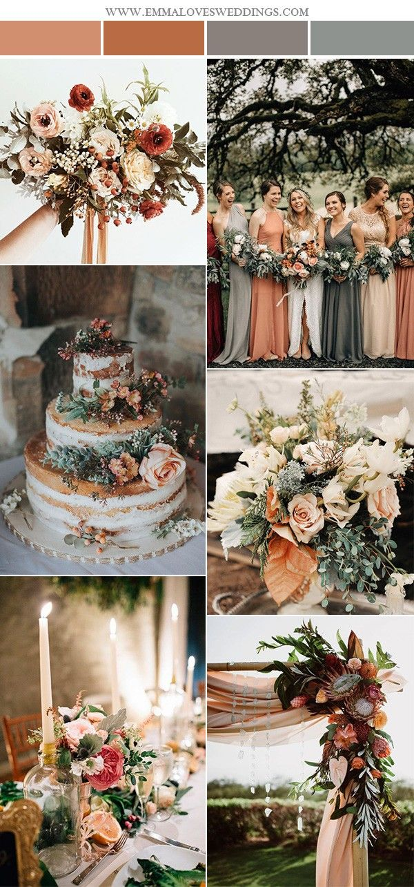 2019 Trending28 Amazing Sunset Orange Wedding Color Ideas