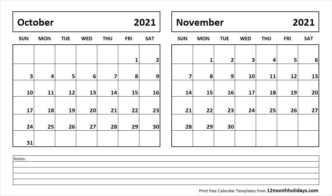 November 2020 Calendar Printable.October And November 2020 Calendar 2018 Calendar December