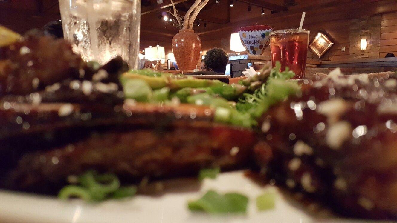 Lamb ribs at Arizona's