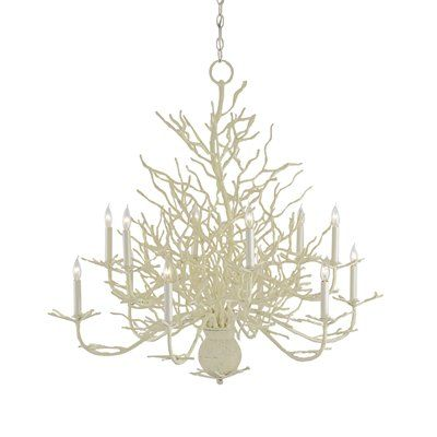 Seaward Large Chandelier by Currey & Company...this one will go in my coastal cottage in Maine...when I get it...someday!