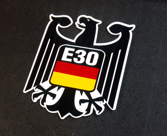 German Eagle Crest For Any Germany Flag Sticker Decal 2 3l Etsy Germany Flag German Eagle E30