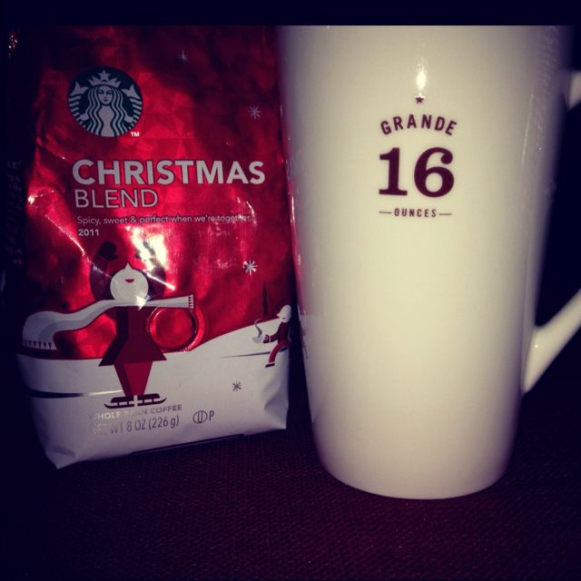 Christmas in February ☕🎄