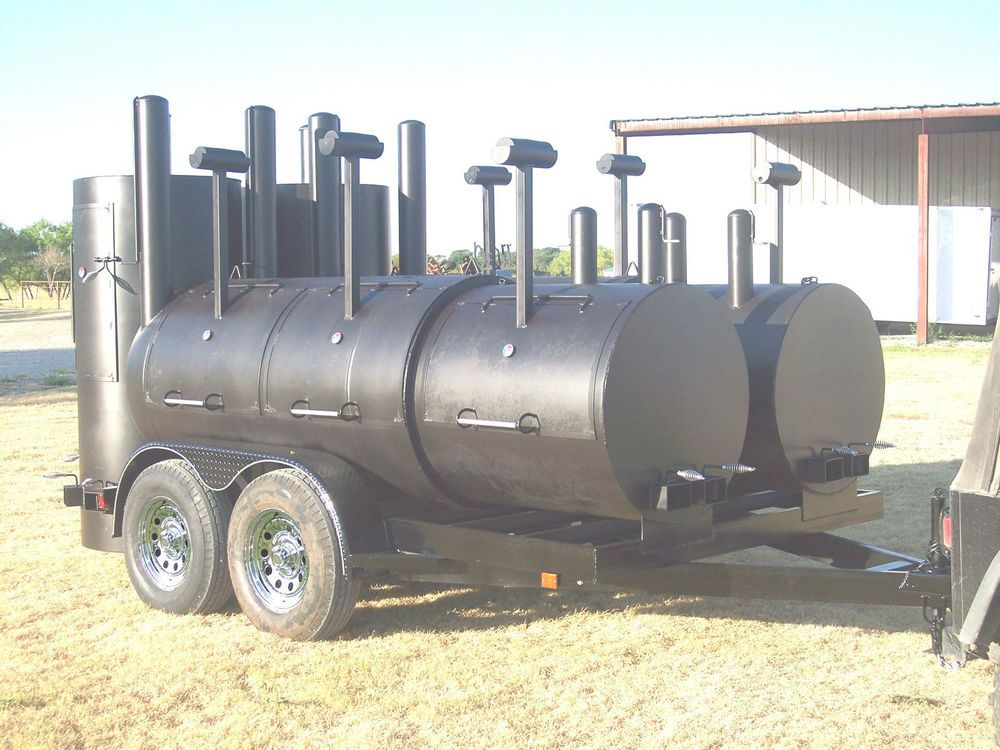 NEW BBQ Pit smoker Charcoal grill concession trailer Bbq
