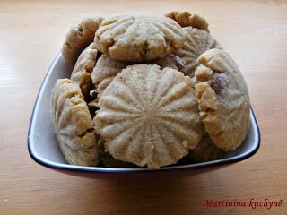 Martinina kuchyně: Sušenky z arašídového másla