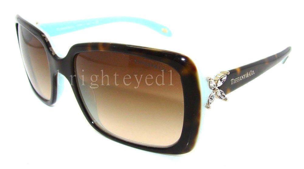f46d74acc621 Authentic TIFFANY   CO. Victoria Rectangular Sunglasses TF 4047B - 81343B   NEW  designer fashion