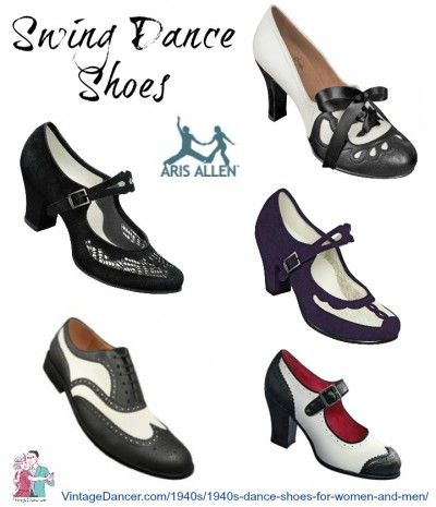 48437133ca71 Make Any Shoes into Vintage Dance Shoes   1940s -1950s Shoes ...