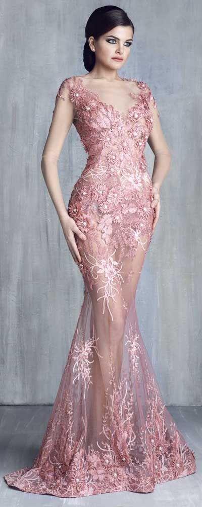 Tony Chaaya Haute Couture 2016 Collection – Evening Dress | Vestidos ...