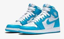 e6a0a5cc9a66 Nike Mens Air Jordan 1 Retro High OG Shoe Sky Blue White  555088-117 ...