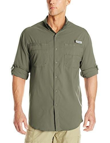 3fcb7e036 Columbia Men's Plus Tamiami II Long Sleeve Shirt, Cypress - Medium ...