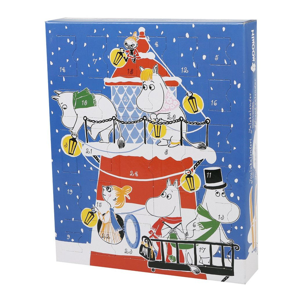 The Moomin Christmas calendar of 2015 is here! Surprise yourself with a new character for 24 days leading up to Christmas.Muumi joulukalenteri 2015 on täällä! 24 päivän ajan uusi hahmo yllättää ja piristää joulukuista päivääsi!