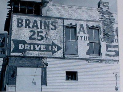 Brains 25 cents.