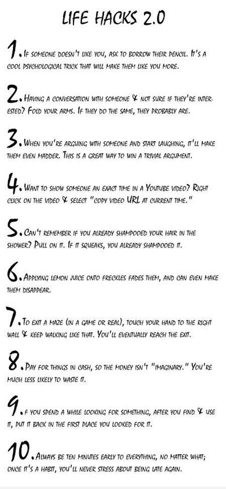 Interesting Tips.