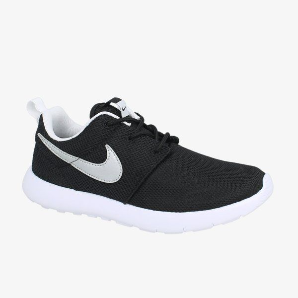 Women s Nike Roshe Two in all Black with Gold Glitter Swoosh detail ... 75b996ee77