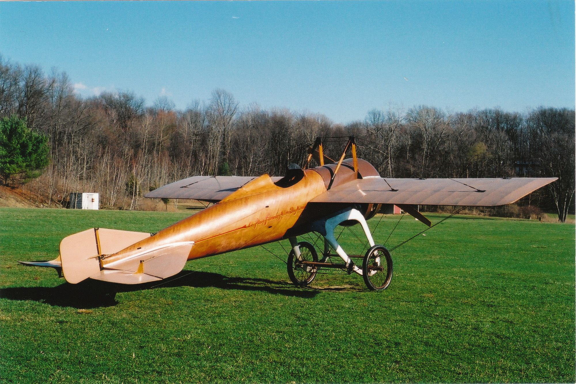 """The Old Rhinebeck Aerodrome is a """"living"""" museum of"""