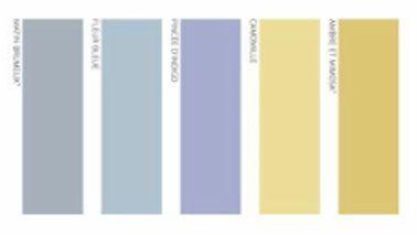 Associer couleurs dans une chambre bleu couleur peinture - Couleur dans une chambre ...