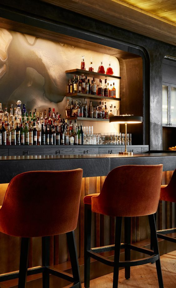 Maple ash chicago usa home and commercial bars - Commercial interior design chicago ...