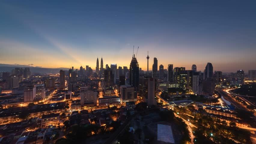 Time Lapse Aerial Kuala Lumpur Stock Footage Video 100 Royalty Free 33348547 Shutterstock Kuala Lumpur City National Landmarks Kuala Lumpur