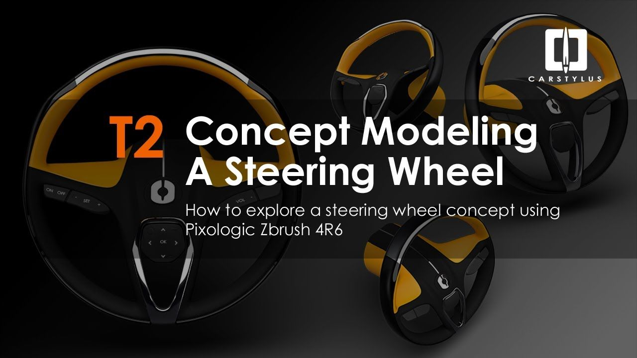Tip 2: Steering Wheel Ideation in Zbrush