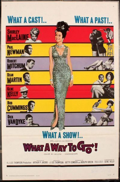 What a way to go Paul Newman vintage movie poster