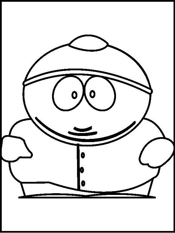 Photos Of South Park Boy coloring picture for kids | South Park ...