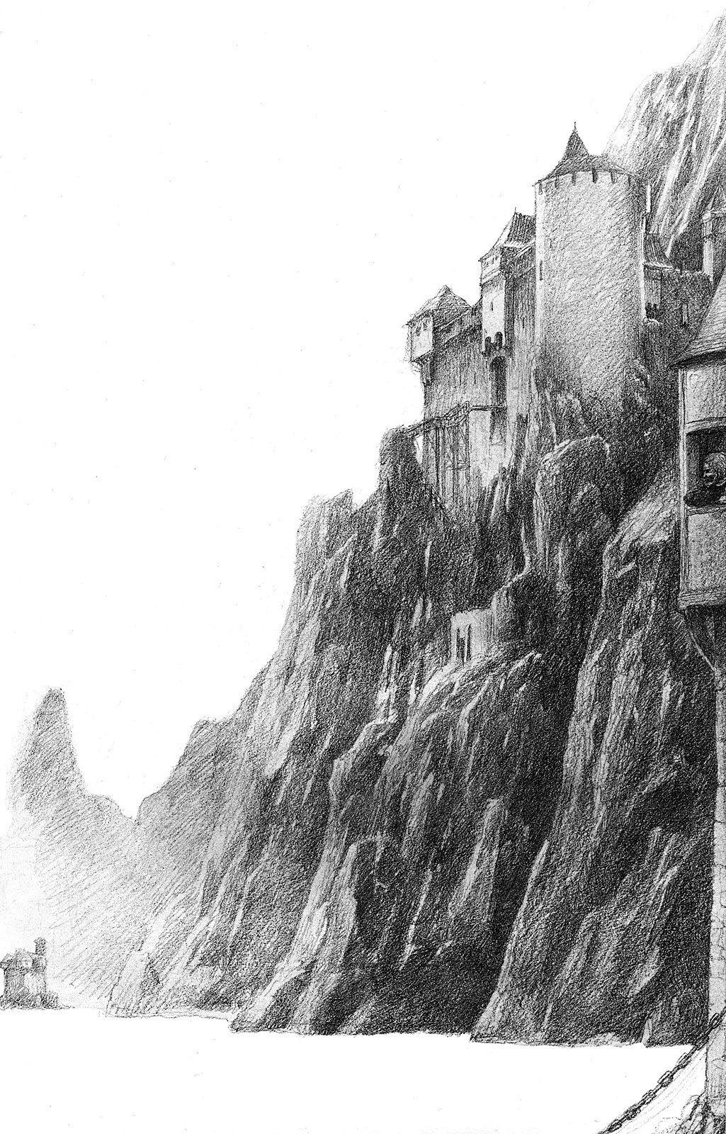 Alan Lee The Rhine Castles  (off 'Castles')