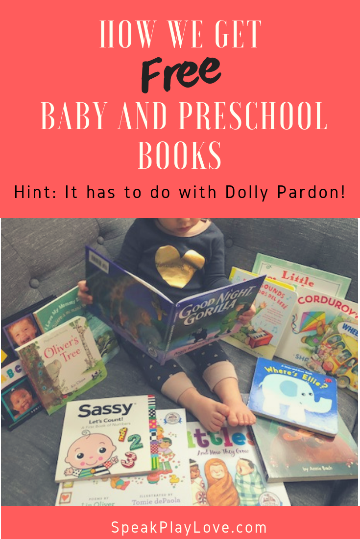 We love getting our baby, toddler and preschool books in