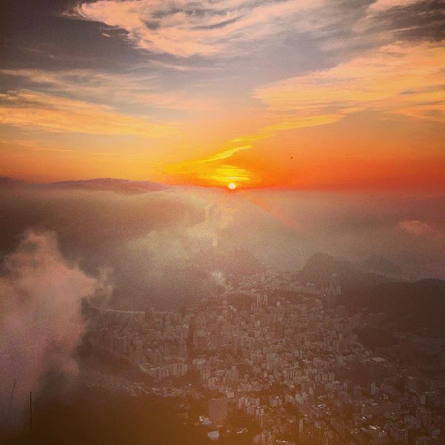 Sunrise over Rio (by Adam Lambert)