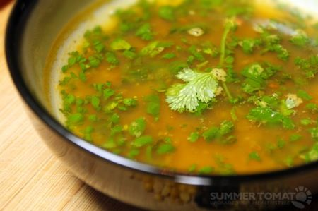 "Dosa's Rasam ""Fire Broth"" Lentil Recipe"