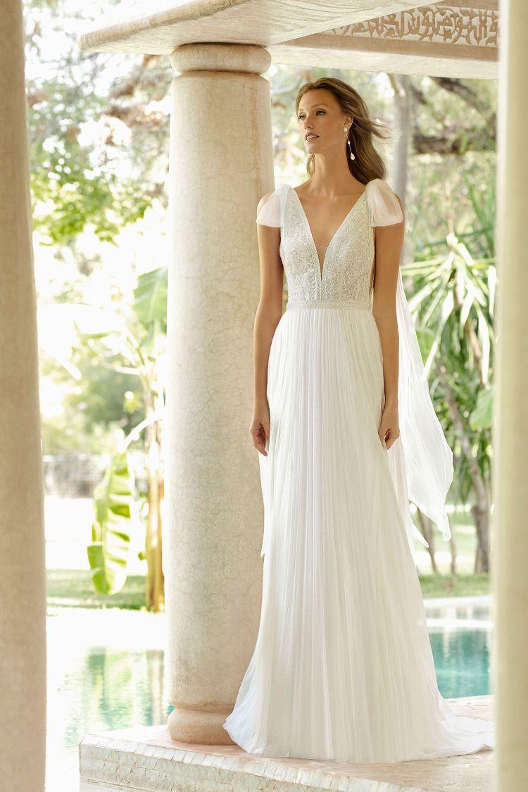 RAIKO by Rosa Clará  Schmale brautkleider, Hochzeitskleid bilder