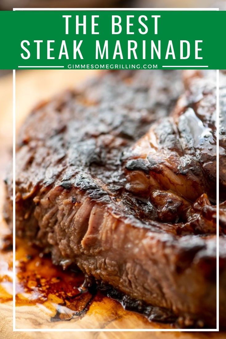 This easy steak marinade is perfect for your grilled steak! It will make it juicy, tender and delicious. Plus, it will be full of flavor. For a melt in your mouth steak prepare this easy marinade! #marinade #recipe #grilledsteakmarinades