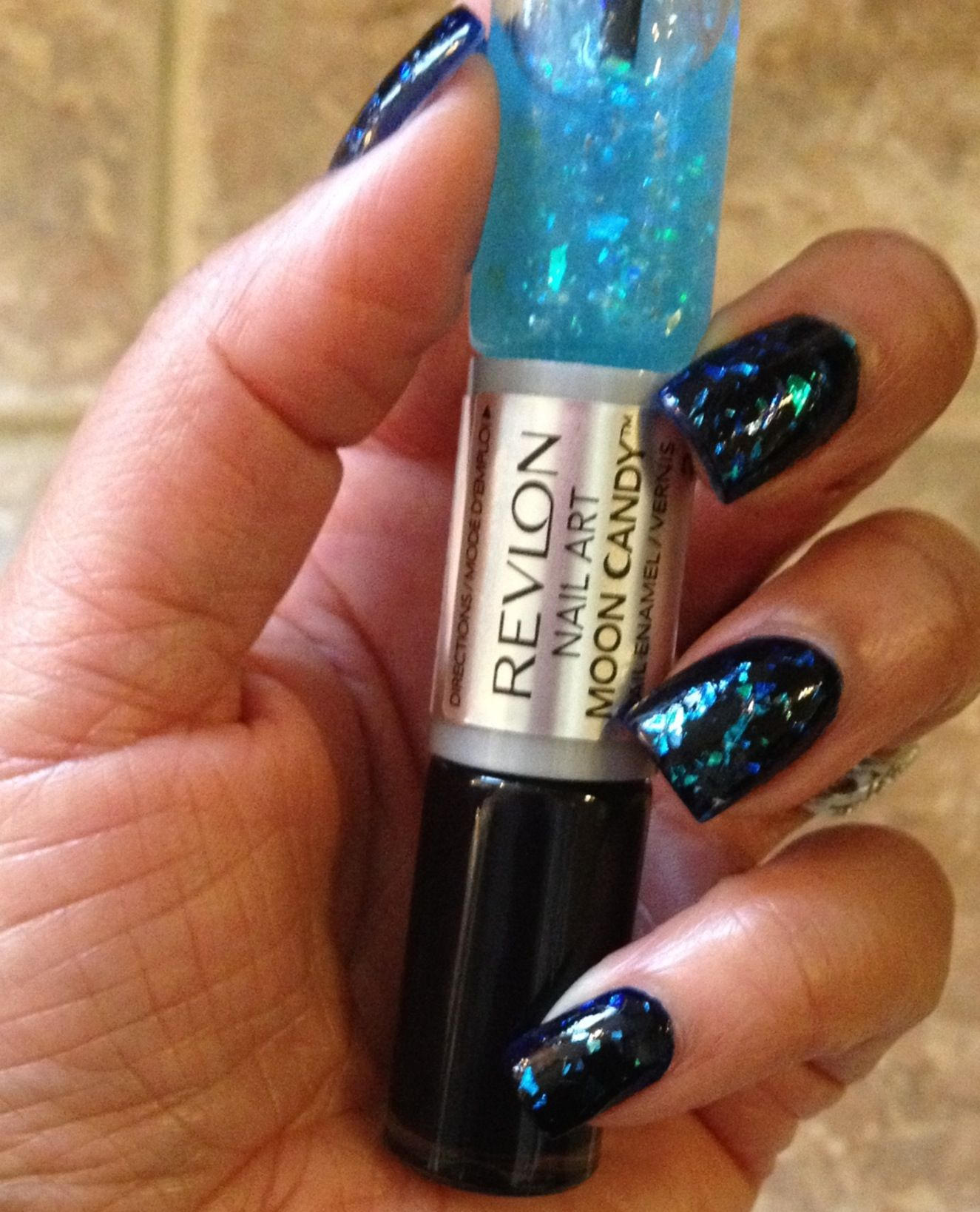 Revlon Nail Art Moon Candy -210 Galactic | Nail Art | Pinterest