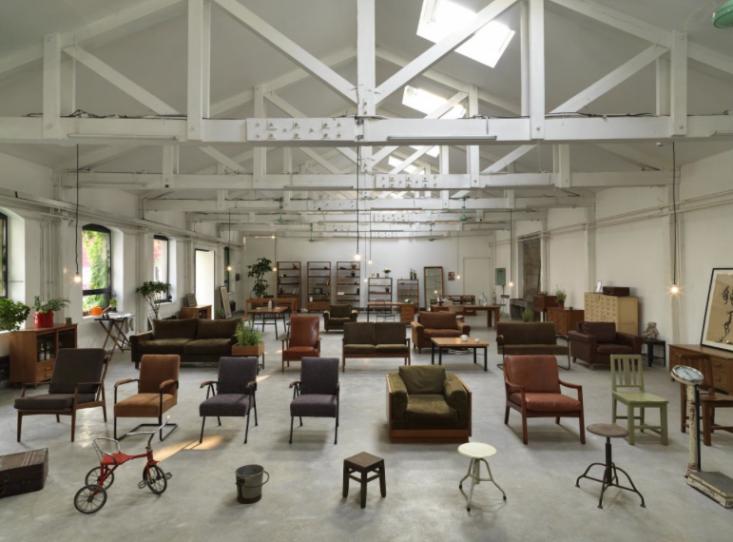 Communist Era Inspired Furniture In Beijing. Chinese DesignCafe ShopShop ...