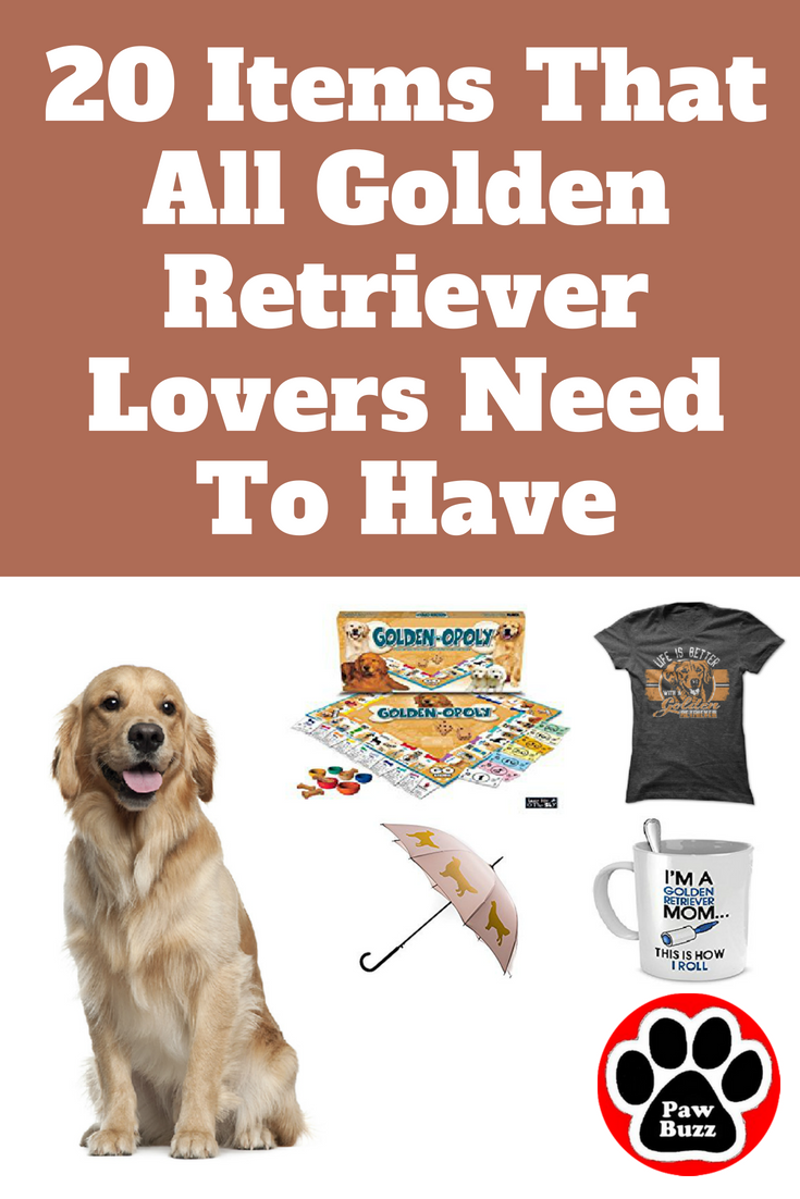20 Items That All Golden Retriever Lovers Need To Have Golden Retriever Gifts Golden Retriever Golden Retriever Training