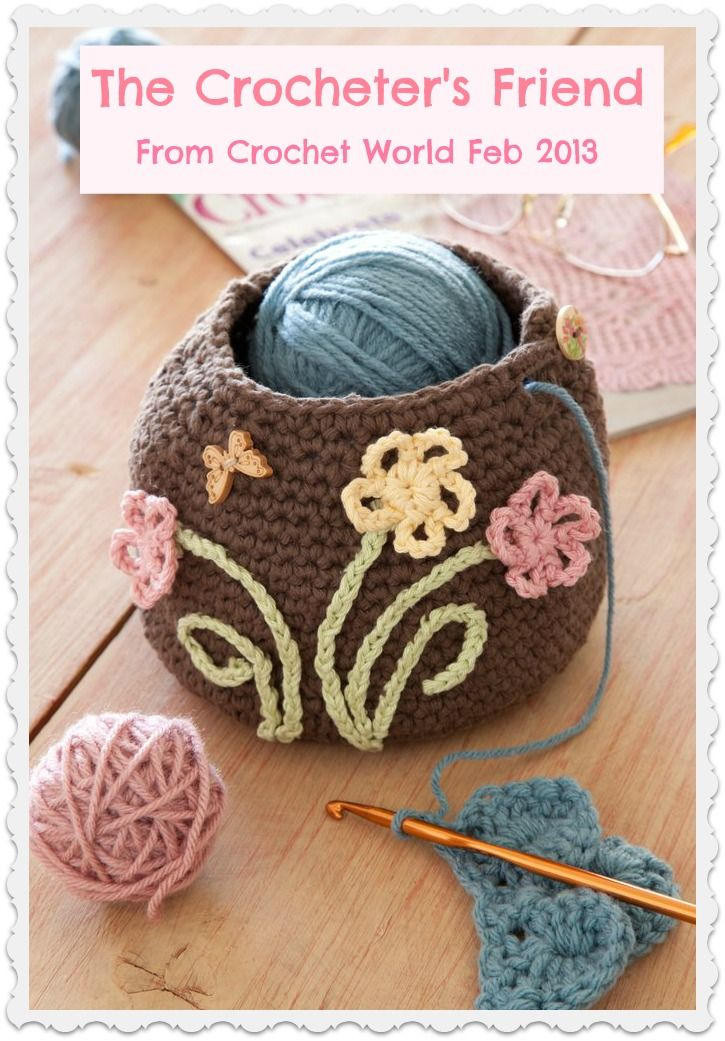 The Crocheter\'s Friend pattern by Ann Parri | Pinterest ...