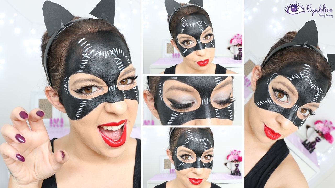 Watch Catwoman Makeup Tutorial for Halloween video