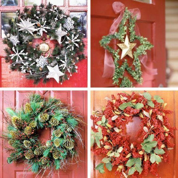 Turkranz Weihnachten Selber Machen Advent Pinterest