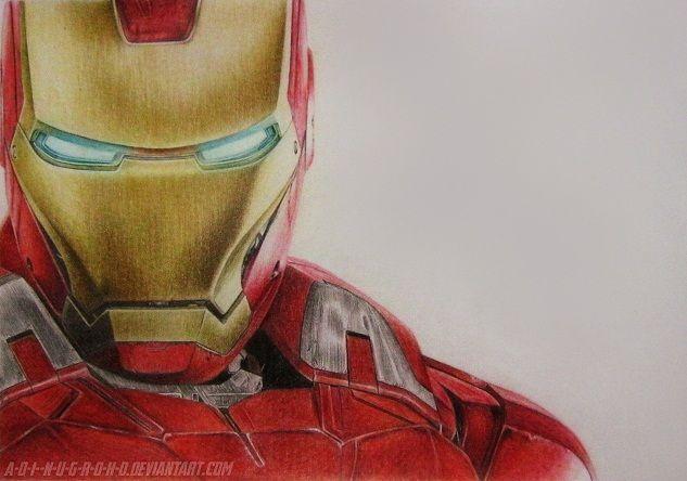 Iron Man Avengers Assemble By A D I N U G R O H O Deviantart Com