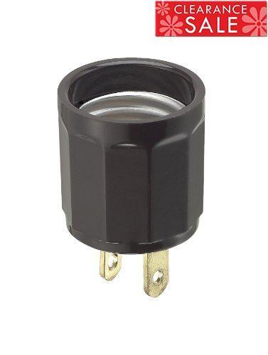 Leviton 61 660 Watt, 125 Volt, Polarized Outlet-to-Lampholder ...