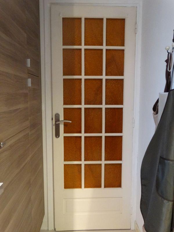 Relooker une porte int rieure nathou kikou mais pas seulement astuces maison relooker - Carreaux verre pour porte interieure ...