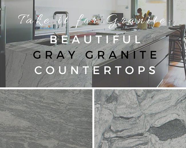 Take It For Granite Beautiful Gray Granite Countertops Grey Granite Countertops Granite Countertops Colors Countertop Colours
