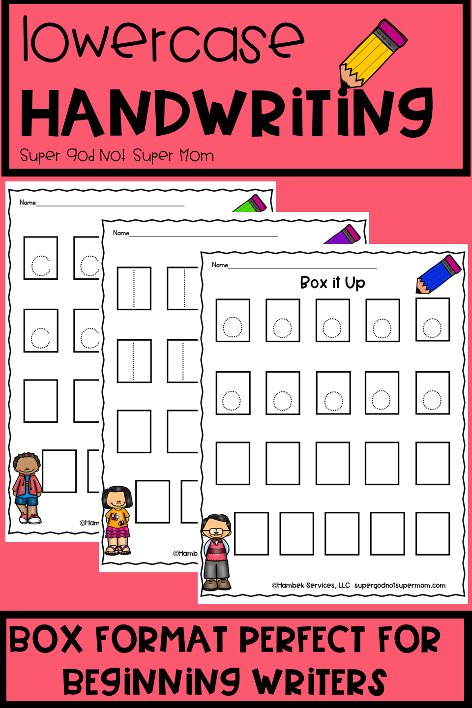 Looking For A Way To Begin Handwriting With Your Preschool Or Kindergarten Students These Box It Up L Preschool Letters Learn Handwriting Handwriting Practice [ 1440 x 960 Pixel ]