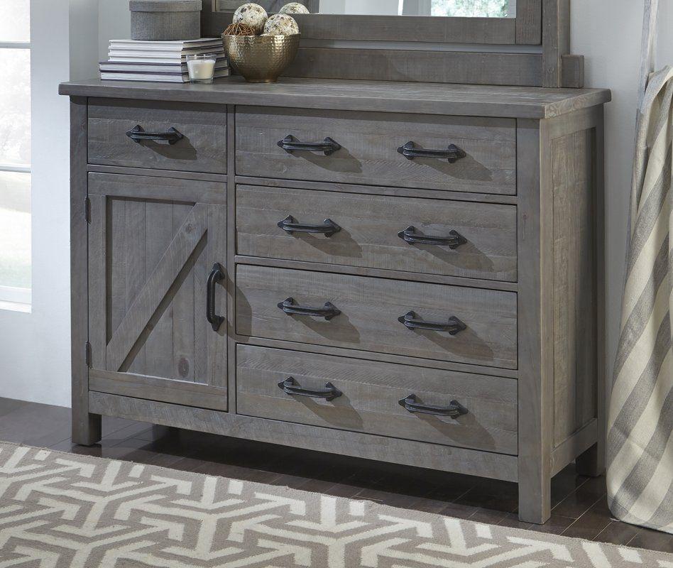 Laurel Foundry Modern Farmhouse™ Enola 5 Drawer Dresser