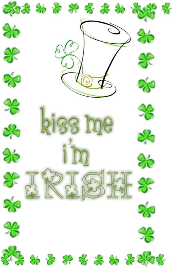 """I'm Irish !!!!!"" by amylouise-1 ❤ liked on Polyvore"