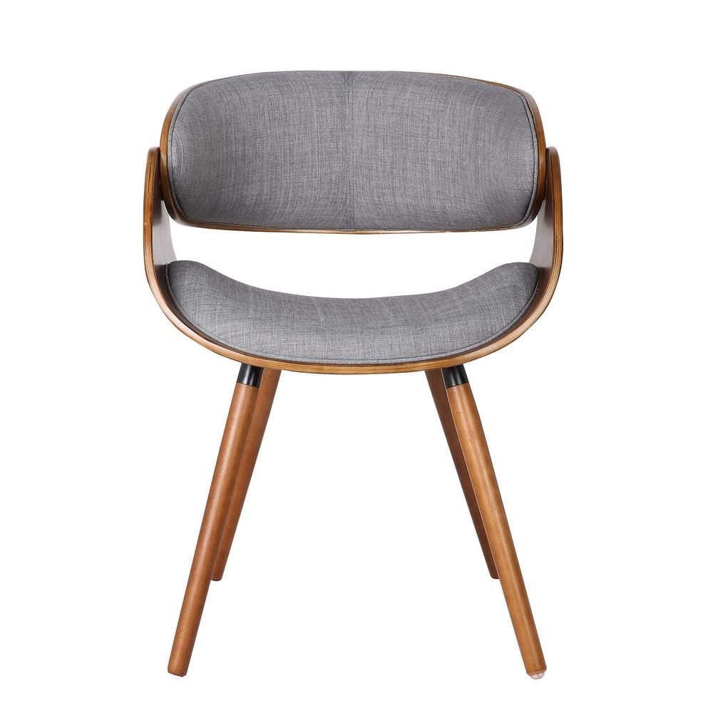 Gray wrap around back dining chair modern furniture furniture direct home decor furniture